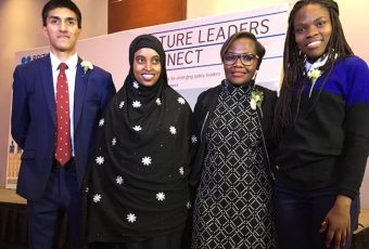 The 2018 British Council Kenya Future Leaders Connect winners.